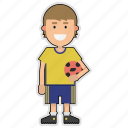 cup, football, player, soccer, sticker, sweden, world icon
