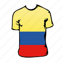 colombia, world cup icon