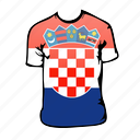 croatia, world cup icon