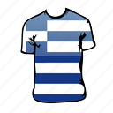 greece, world cup icon