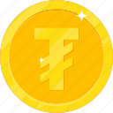 currency, gold, gold coin, money, tugriks icon