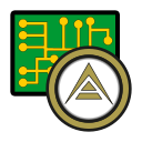 ark, coin, cryptocurrency, currency, digital, exchange, wallet icon