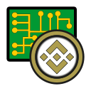 binance, coin, cryptocurrency, currency, digital, exchange, wallet icon