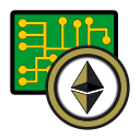 coin, cryptocurrency, currency, digital, ethereum, exchange, wallet icon