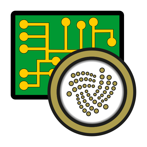 coin, cryptocurrency, currency, digital, exchange, iota, wallet icon