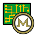 coin, cryptocurrency, currency, digital, exchange, monero, wallet icon