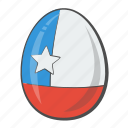 chile, egg, flag, flags icon