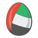 egg, emirates, flag, arab