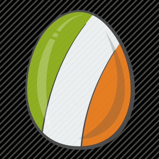 egg, flag, ireland, nation icon