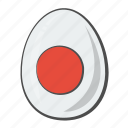 easter, egg, flag, japan icon