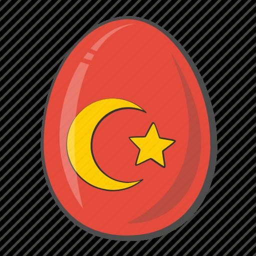 Egg, flag, turkey, easter icon - Download on Iconfinder
