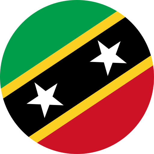 country, flag, saint kitts & nevis, world icon