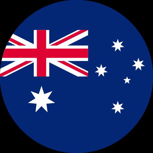 Button to select 'Australia'