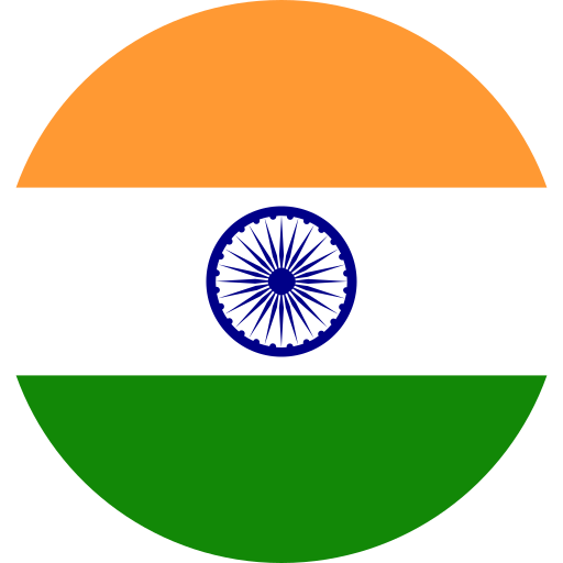 country, flag, india, world icon