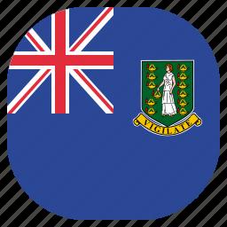 british, flag, islands, virgin icon