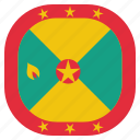 country, flag, grenada, national