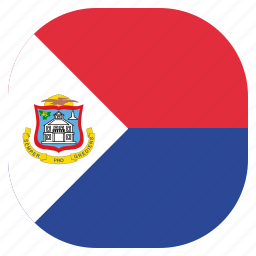 country, flag, maarten, national, sint icon
