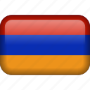 armenia, country, flag icon