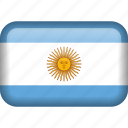 argentina, country, flag
