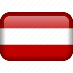 austria, country, flag icon