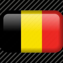 belgium, country, flag icon