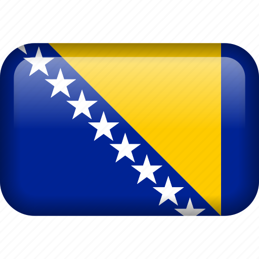 bosnia and herzegovina, country, flag icon