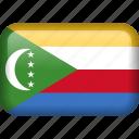 comoros, country, flag