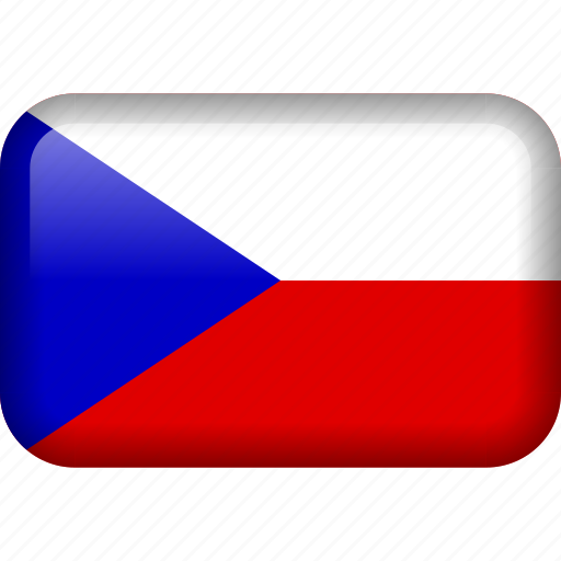 country, czech, czech republic, flag, national icon
