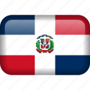 country, dominican, dominican republic, flag, republic icon