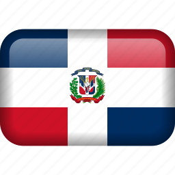 country, dominican, dominican republic, flag, republic icon