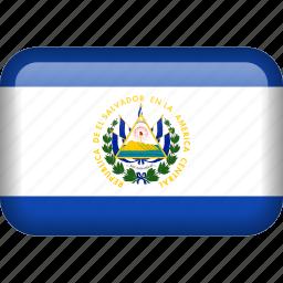 country, el salvador, flag icon