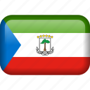 country, equatorial, equatorial guinea, flag icon