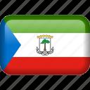 country, equatorial, equatorial guinea, flag icon