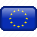country, eu, euro, europe, european, flag, union icon