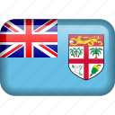 country, fiji, flag icon