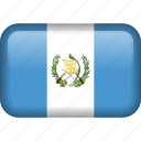 guatemala, country, flag icon