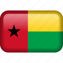 guinea, bissau, country, flag icon
