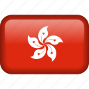 country, flag, hong kong, hongkong, national icon