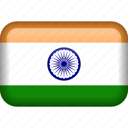 country, flag, india icon