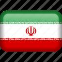 iran, country, flag icon