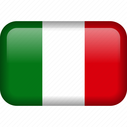 country, flag, italy icon