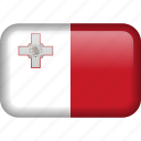 malta, country, flag