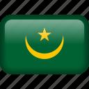 mauritania, country, flag, national