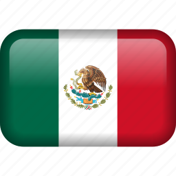 country, flag, mexico icon