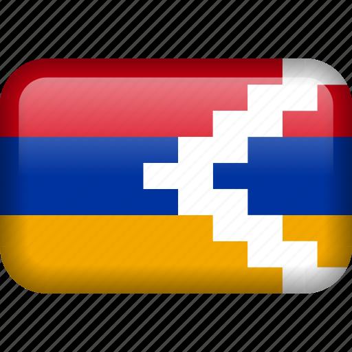 country, flag, nagorno icon