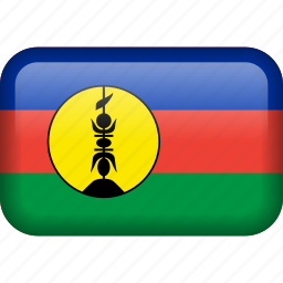 caledonia, country, flag, new caledonia icon
