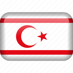 country, cyprus, flag, northern cyprus icon
