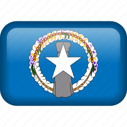 country, flag, northern mariana islands icon