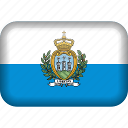 country, flag, san marino icon