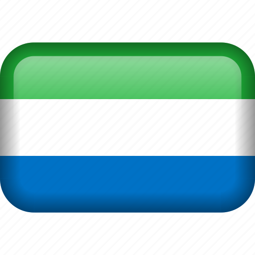 country, flag, sierra leone icon